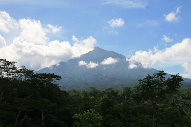 Blick auf den Gunung