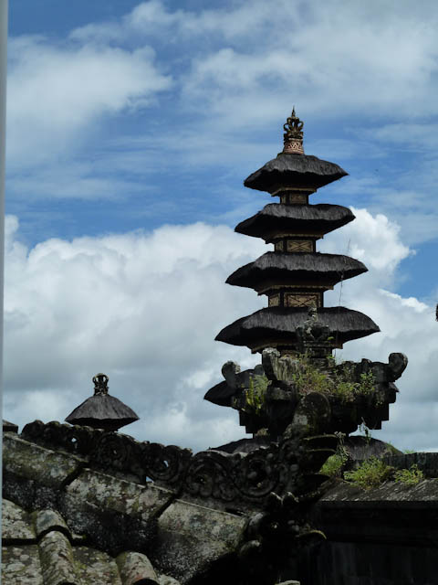 Verschiedene Tempelanlagen auf Bali