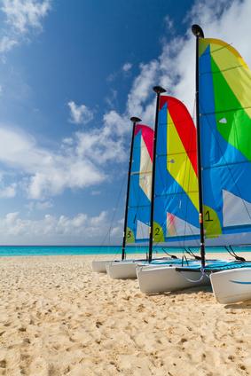 Bali bietet sehr gute Möglichkeiten für Segelsportler